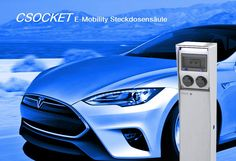 E-Mobility Steckdosensäule Ladesäule Typ 2 Steckdose , Elektroauto Ladestation, Plugs for the World E Mobility, Camping, Partner, Plugs, Bmw, Electrical Outlets, Campsite, Outdoor Camping, Rv Camping