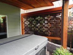 Metal Deck Privacy Panels