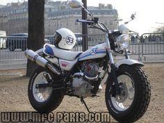 1 SUZUKI VANVAN VAN-VAN Choupette 53 MFC Design - Préparation motos, peinture, design, tuning, Suzuki - Kawasaki