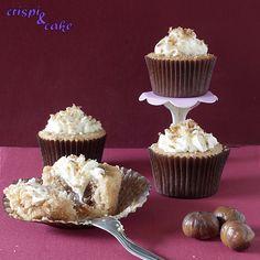 Crispi & Cake: Cupcakes de castaña con nata
