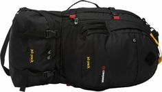 Caribee Jet Pack 65L Travel Pack Black - via eBags.com! North Face Backpack, Travel Packing, The North Face, Jet, Backpacks, Bags, Fashion, Handbags, Moda