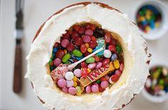 DIY Pinata Cake