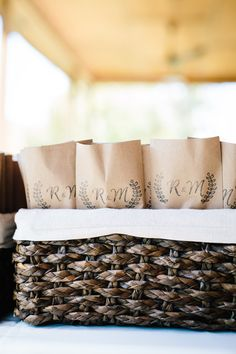 Wedding favors | Photography Anchors Aweigh Photography | Venue Pleasant Union Farm #barnvenue #farmwedding #northgeorgiawedding #weddingvenue #wedding #bride #atlbride #rusticelegance #southerncharm #outdoorwedding #weddinginspiration #southernbride #georgiabride #gettingmarried #bridetobe #weddingplanning