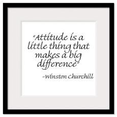 attitude is THE difference...