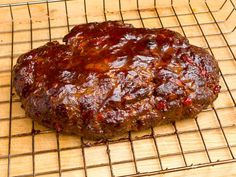 Smoked Meatloaf with