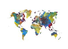 World Map 2025 - JBJart