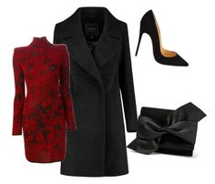 """Untitled #12"" by elifhatun-eh on Polyvore featuring Balmain, Christian Louboutin and Victoria Beckham"
