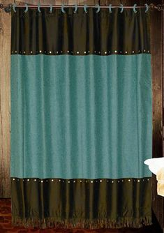 teal and brown shower curtain. Cheyenne Turquoise Shower Curtain Teal And Brown Shower Curtain  Bathroom Bedroom Decorations