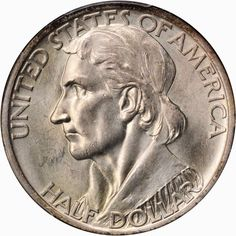 Early United States commemorative coins 1934-1938 Daniel Boone Bicentennial Silver Half Dollar. The Daniel Boone Half Dollar was minted to celebrate the 200th anniversary of the birth of the famous frontiersman, explorer, and folk hero.