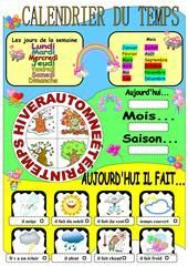 Weather and seasons multiple choice activity worksheet - Free ESL printable worksheets made by teachers Weather Worksheets, Vocabulary Worksheets, Worksheets For Kids, Today Calendar, Kids Calendar, Language Activities, Therapy Activities, Speech Activities, Calendar Worksheets