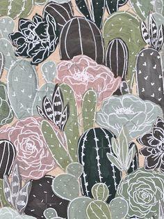 Cute Canvas Paintings, Diy Canvas Art, Painting & Drawing, Watercolor Paintings, Floral Paintings, Guache, Cactus Art, Art Drawings Sketches, Art Inspo