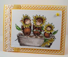 I adore these guys, from House Mouse stamps called Spring Blossoms.  www.housemouse.com