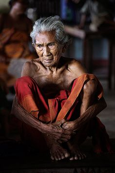 Kokrajhar, India: Rupeswari Brahma, a 97-year-old Bodo woman who fled ethnic riots in Assam takes a rest at the Alayaran relief camp Photograph: Anupam Nath/AP