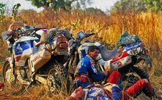 Honda Africa Twin RD03 Dakar!! Beautiful picture!