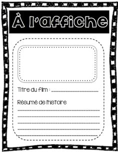 Atelier d'écriture Le cahier de Pénélope Writing Resources, Teaching Writing, Writing Activities, Teaching Tools, Core French, French Classroom, Writers Notebook, Future Jobs, French Immersion