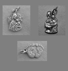 Charm Lot of Three Medals by jennyreb26thnc on Etsy, $3.50