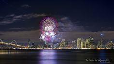 San Francisco New Year Fireworks 2013 by David Yu on 500px