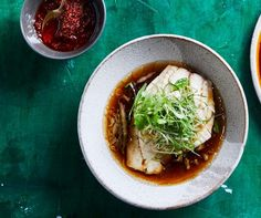 The legendary chef's take on a Cantonese classic – it's light, delicate and clean-tasting.