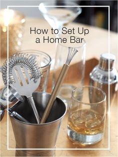 Easy tips to set up a basic home bar for a cocktail party