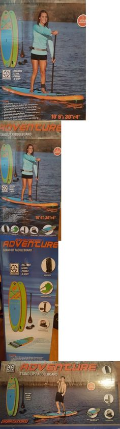 Stand Up Paddleboards 177504: Sportstuff 1030 Adventure Stand Up Paddleboard W Accessories -> BUY IT NOW ONLY: $329.99 on eBay!
