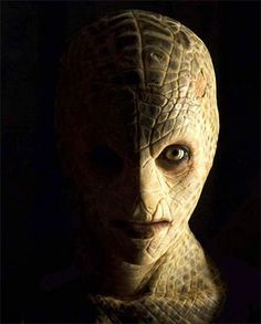 Mallika Sherawat in Hissss. Snake prosthetic makeup