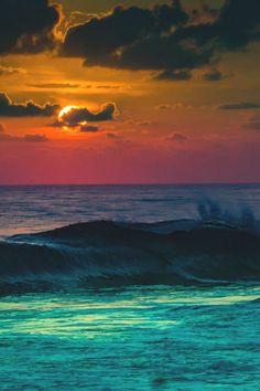 "lsleofskye: ""cloudy sun gold coast australia """
