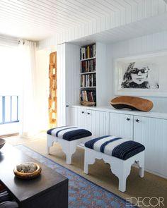 Elle Decor: Living Room