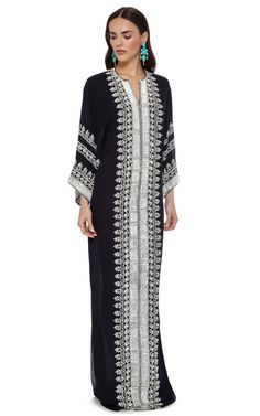 The Caftan Collection Special 2015 Trunkshow Look 24 on Moda Operandi