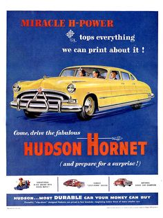 """The very popular Camrao A favorite for car collectors. The Muscle Car History Back in the and the American car manufacturers diversified their automobile lines with high performance vehicles which came to be known as """"Muscle Cars. Hudson Hornet, First Time Driver, Ford Classic Cars, Classic Auto, Pontiac Gto, Chevrolet Impala, Us Cars, Boat Plans, Advertising Poster"""