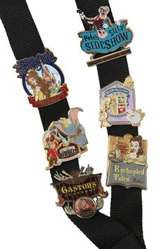 Pins dedicated to Disneys new fantasy land i have so many Disney Pins and these r perfect to add to my collection