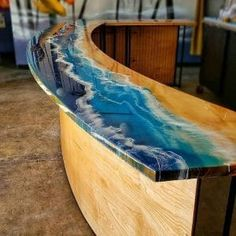 Resin Furniture, Woodworking Furniture, Woodworking Projects Plans, Diy Woodworking, Woodworking Videos, Woodworking Finishes, Woodworking Machinery, Woodworking Classes, Wood Crafts