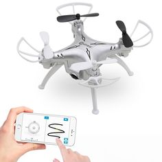Contixo F3 World's Easiest Fly App Track-Controlled Mini Drone 720P HD WiFi Camera, 2.4GHz 4CH 6-Axis Gyro RC Qu #ad