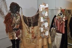 #WWNLSFStudents recreated costumes from the pre-historic era