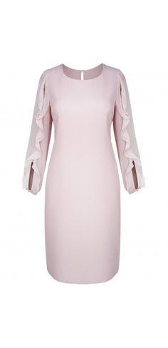 Sukienki wizytowe - Kolekcja wiosenna || Suknie wieczorowe Dresses For Work, Dresses With Sleeves, Long Sleeve, Womens Fashion, Model, Full Sleeves, Gowns With Sleeves