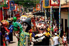 Carnival time...S.America
