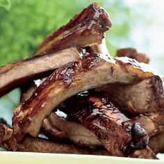 Bourbon-Glazed Baby Back Ribs
