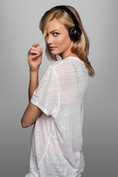 Karlie Kloss #headphones #beatsbydre