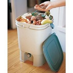 How To Make Your Own Indoor Compost Bin | Composting, Outdoors and ...