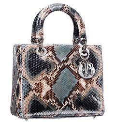 Womens Handbags & Bags : Dior Handbags Collection & More Details Christian Audigier, Dior Handbags, Purses And Handbags, Luxury Bags, Luxury Handbags, Sac Lady Dior, Christian Dior Purses, Cristian Dior, Sacs Design