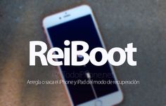 Conoce sobre ReiBoot arregla o saca el iPhone y iPad en modo de recuperación