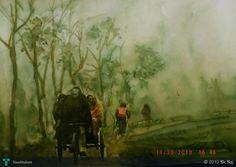Fog-1 #Creative #Art #Painting @Touchtalent.com