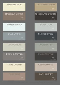 Warm and soft colors to make perfect combinations. Colors in Lime Paint, Chalk Paint and much more. Take a look at our website.