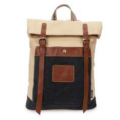 DANNY BEAR Canvas Stylish Backpack Travel Shoulder School Satchel Daypack  for Men and Women. Laptop BackpackBackpack BagsBackpacksBackpackBackpacking Satchel ca6e02b6bd