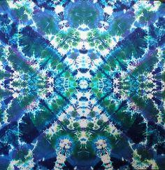 """'Facetted Lotus' Mandala """"44x44"""" #2512"""