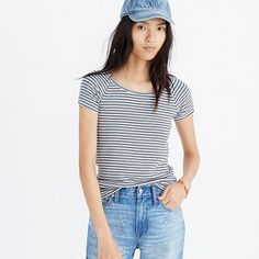 cc2723604b3 Canal Top in Stripe. MadewellRiverStripesSummer OutfitsTeesHow To ...