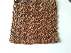 SZALIK DAMSKI ŚCIEG PRZYPOMINAJĄCY WARKOCZE, crochet cable scarf - YouTube
