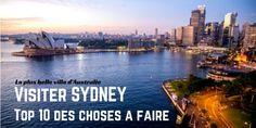 Sydney est un de mes endroits préférés en Australie! Partez en voyage pour cette ville qui vibre d'énergie avec ma sélection de 10 expériences incontournables! A lire sur vie-inoubliable.com!