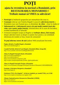 POȚI AJUTA la normalitate în România !