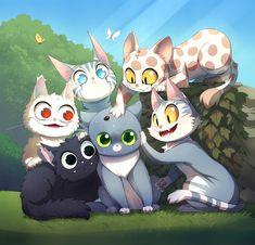 Family Cat - MALIKI - Webcomic