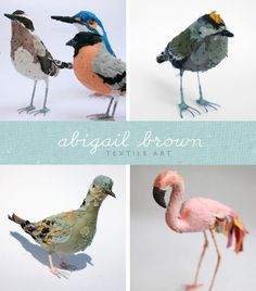 Abigail Brown Fabric Birds